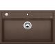 Chiuveta bucatarie BLANCO DALAGO 8, silgranit, cafea, 80 cm, 516638