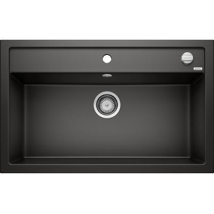 Chiuveta bucatarie BLANCO DALAGO 8, silgranit, negru, 80 cm, 525877