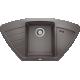Chiuveta bucatarie pe colt BLANCO ZIA 9 E, silgranit, alumetalic, 40 cm, 514757