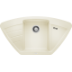Chiuveta bucatarie pe colt BLANCO ZIA 9 E, silgranit, jasmin, 40 cm, 514759