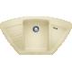 Chiuveta bucatarie pe colt BLANCO ZIA 9 E, silgranit, sampanie, 40 cm, 514760