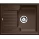 Chiuveta bucatarie BLANCO ZIA 40 S, 40 cm, silgranit, cafea, 516927