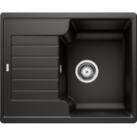 Chiuveta bucatarie BLANCO ZIA 40 S, 40 cm, silgranit, negru, 526006