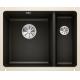 Chiuveta cu montare sub blat BLANCO SUBLINE 350/150-U, negru, ceramica, 60 cm, 523747