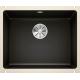 Chiuveta cu montare sub blat BLANCO SUBLINE 500-U, ceramica, 60 cm, negru, 523740