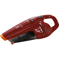 Aspirator de mana Electrolux Rapido ZB6106WR , Wet&Dry, 10 W, 0.5 L, 1500 mAh, rosu