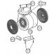 Kit de recirculare pentru hota Teka DQ 90, 40490109
