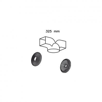 Kit de recirculare pt hote Teka 40490103