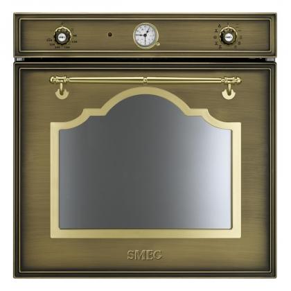 Cuptor incorporabil electric Smeg Cortina SF750OT, retro, alama, Vapor Clean