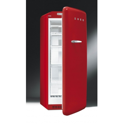 Congelator retro Smeg CVB20RR1, rosu