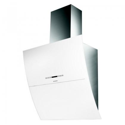Hota de perete Faber MIRROR BRS WH X/V A80, sticla alba