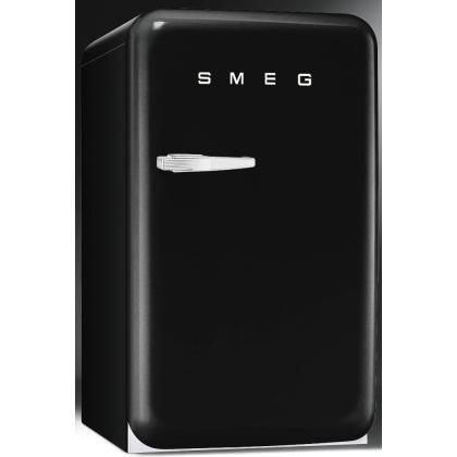 Minibar retro pentru bauturi Smeg FAB10HRNE, negru