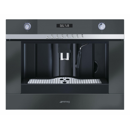 Cafetiera incorporabila automata Smeg Linea CMSC45NE, negru