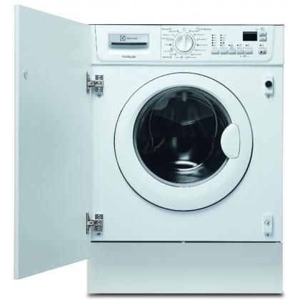 Masina de spalat rufe cu uscator incorporabila Electrolux EWX147410W, 7 kg, 1400 rotatii, clasa B