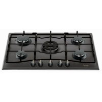Plita incorporabila pe gaz retro Hotpoint Ariston PC 750 T AN R, 75 cm latime, antracit