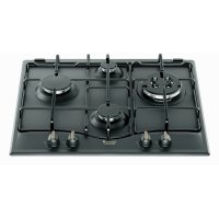 Plita incorporabila pe gaz retro Hotpoint Ariston PC 640 T AN R, 60 cm latime, antracit