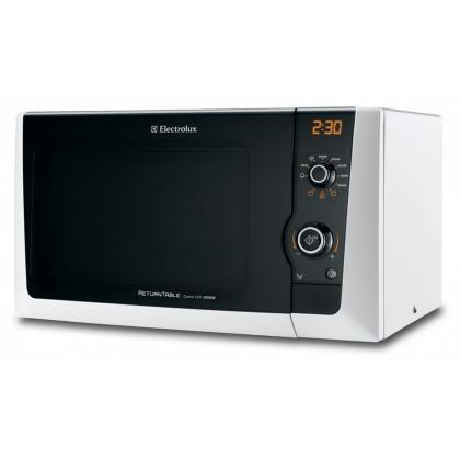 Cuptor cu microunde Electrolux EMS21400W, alb, 800 W, grill