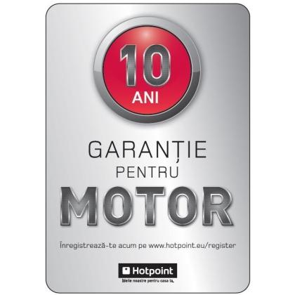 Masina de spalat rufe cu uscator Hotpoint Ariston Aqualtis AQD970D 49 EU/B, 9 kg spalare, 7 kg uscare, 1400 rpm