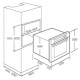 Cuptor incorporabil electric Teka HL 840, 9 functii, HydroClean