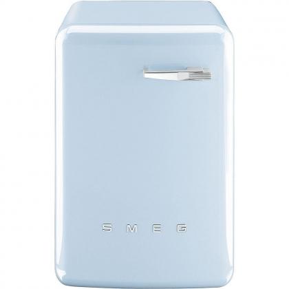 Masina de spalat rufe Smeg LBB14AZ, retro, albastra, 7 kg spalare, clasa A+