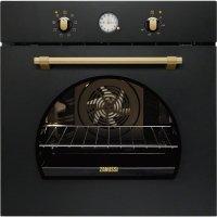 Cuptor incorporabil electric Zanussi ZOB33701CR, retro, negru, Acqua Cleaning