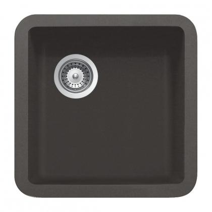 Chiuveta de bucatarie Smeg VST38T, Cristalit, titan, 40 cm latime