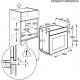 Cuptor incorporabil electric cu aburi Electrolux EOC6631AOX, pirolitic, inox, proba de carne, ghidaj telescopic