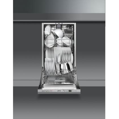 Masina de spalat vase complet incorporabila Smeg STA4525, 45 cm latime, 10 seturi, clasa A++, 10 programe