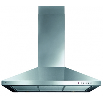 Hota semineu Pyramis CL5 Square Chimney, 90 cm, inox