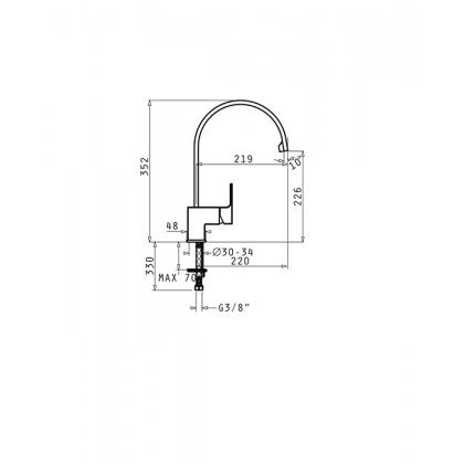 Baterie de bucatarie Pyramis Arioso Crom