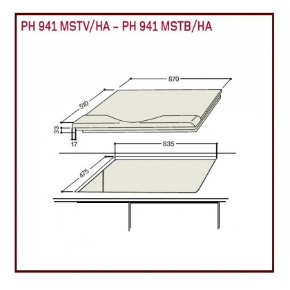 Plita incorporabila mixta Hotpoint Ariston PH 941MSTV (IX)/HA