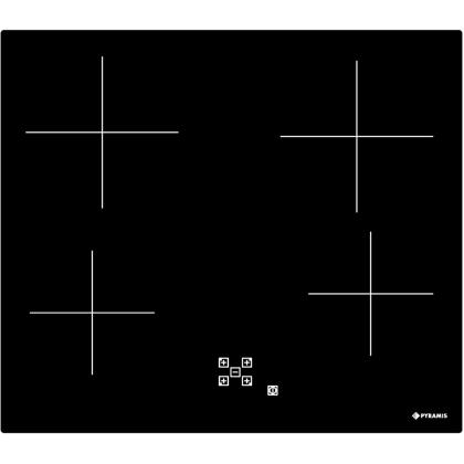 Plita incorporabila vitroceramica electrica Pyramis 58HL 438, 60 cm, Touch Control