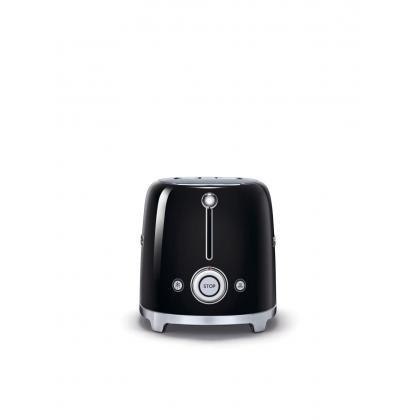 Prajitor de paine Smeg TSF01BLEU, 950 W, negru, retro