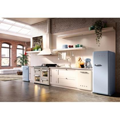 Prajitor de paine Smeg TSF01PBEU, 950 W, albastru, retro
