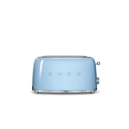Prajitor de paine Smeg TSF02PBEU, 1500 W, albastru, retro, 4 felii
