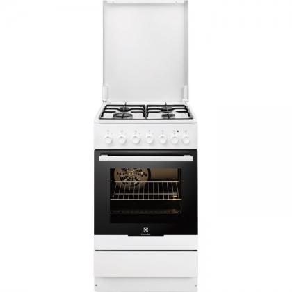 Aragaz mixt Electrolux EKK52550OW, 50 cm, alb