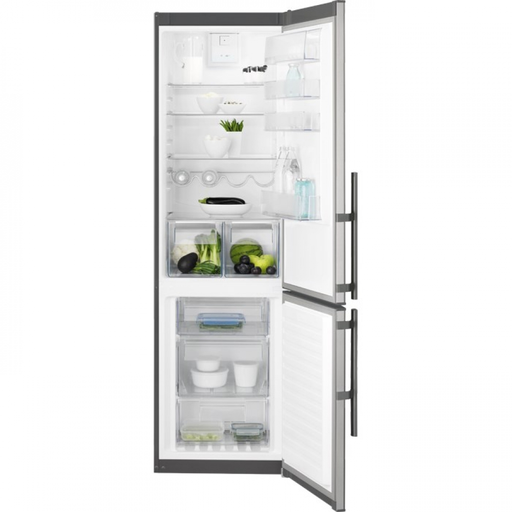 Imagine indisponibila pentru Combina frigorifica No Frost Electrolux EN3853MOX 60 cm clasa A++ inox