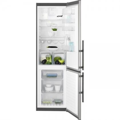 Combina frigorifica No Frost Electrolux EN3853MOX, 60 cm, clasa A++, inox