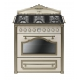Masina de gatit mixta retro Smeg Cortina CC9GPO, 90 cm latime, crem, estetica alama
