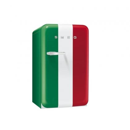 Minibar retro pentru bauturi Smeg FAB10HRIT, steagul Italiei