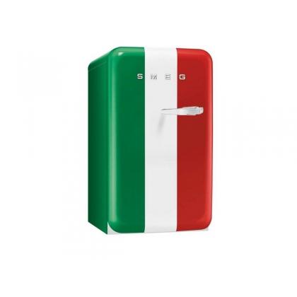 Minibar retro pentru bauturi Smeg FAB10HLIT, steagul Italiei