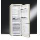 Combina frigorifica retro Smeg FA8003PO, 70 cm, crem, manere alama, clasa A+, No Frost
