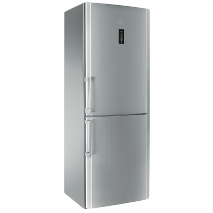Combina frigorifica No Frost Hotpoint Ariston ENBYH 19323 FW O3, 70 cm, inox, Active Oxygen, display