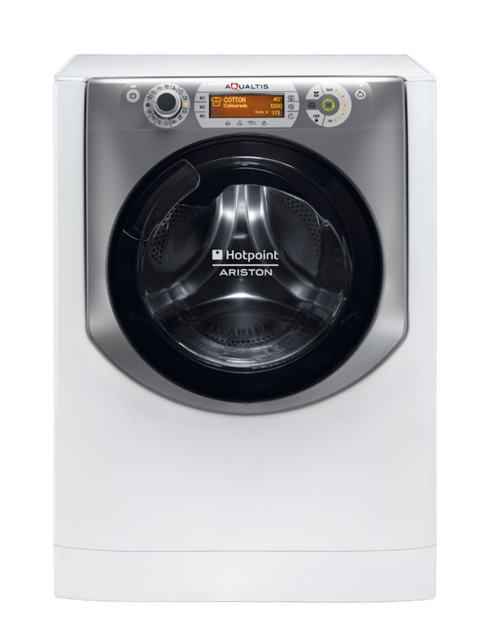 Imagine indisponibila pentru Masina de spalat rufe Hotpoint Ariston Aqualtis AQS73D 29 EU/B Slim 7 kg clasa A+++