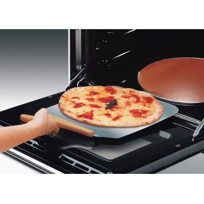 Piatra pentru pizza cu manere Smeg PRTX