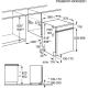 Masina de spalat vase partial incorporabila Electrolux ESI5540LOX, 60 cm, inox, 6 programe, clasa A++