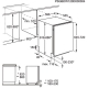 Masina de spalat vase complet incorporabila Electrolux ESL5330LO, 60 cm, 5 programe, clasa A++