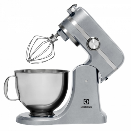 Mixer Electrolux Assistent Kitchen Machine EKM4600, silver, 1000 W