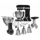 Mixer Electrolux Assistent Kitchen Machine EKM4200, negru, 1000 W, tocator carne si set 4 razatori incluse