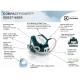 Statie de calcat cu aburi Electrolux EDBS7146GR, 2400W, verde, 240g/min, tehnologie Pressurased System